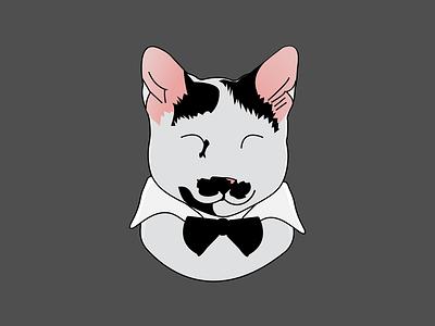 charlot cat 01 mascot design mascotlogo mascot logo design illustration mascot mascot character logo