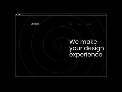 UPROCK — NEW WEBSITE. Main graphic design branding typography minimal website web design animation ux ui