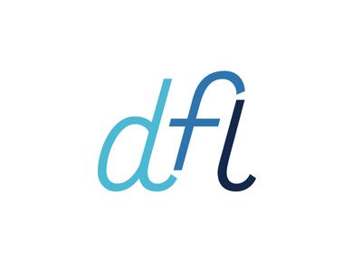 Design For Life custom monogram lettering typography type font robofont branding vector logo life design