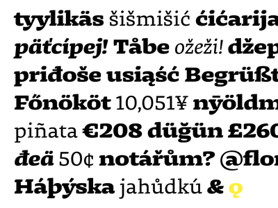 Dalma Typeface Family diacritics typography typeface design type font display typeface decorative serif display text