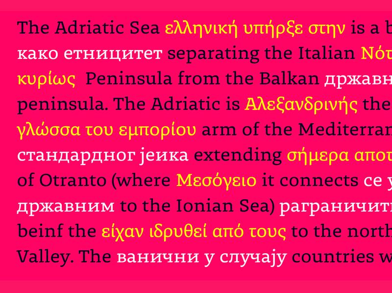 Dalma Typeface display text font typography typeface type script latin greek cyrillic
