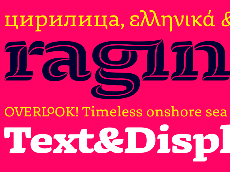 Dalma Typeface Family decorative typography typeface design font typeface cyrillic greek latin display text