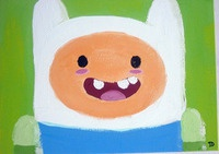Finn from Adventure Time