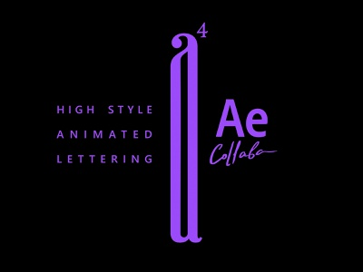Animated_logos High_style_4 clothing tshirt wiktor ares music game logotype logo lettering high-style typography