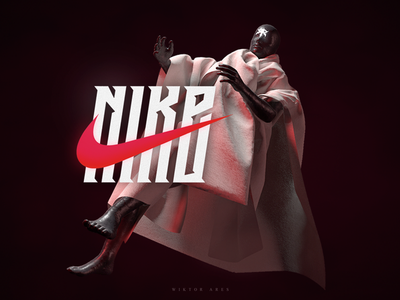 Nike nike design music game logo logotype high-style lettering typography