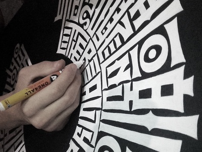 wip molotow high-style condensed lettering typography