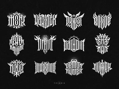 Warcraft lettering