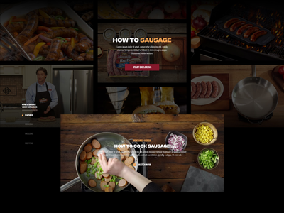 How to Sausage page layout thumbs thumbnails video video player sausage how how to