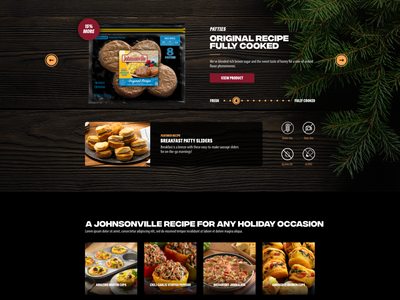 Breakfast Sausage page holiday product wood sausage breakfast