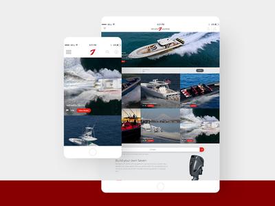 Seven Marine Website