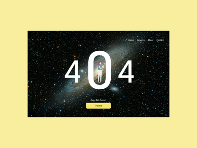 404 Web page   Daily UI 008 ui design dailyui 001 100daychallenge
