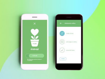 Flo app | Create your garden app mobile uxdesign uiux ux product design ui