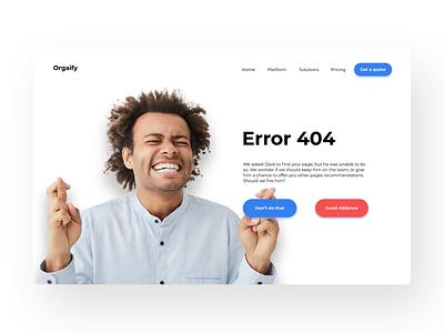 Daily UI 08 - Error 404 error404 dailyui008 dailyuichallenge daily 100 challenge figmadesign figma design app uxdesign ux ui dailyui