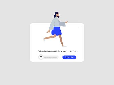 Daily UI 16 - Pop-Up / Overlay pop up design pop up ui daily 100 challenge figmadesign figma design app dailyuichallenge uxdesign ux ui dailyui