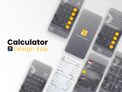 Calculator Design Apps darkmode math mathematics skecth uidesign creative concept application calculator design calculate calculator calculator app calculator ui dailyui branding ux ui inspiration app design app