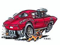 1963 Corvette Gasser