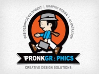 Pronk Graphics Logo