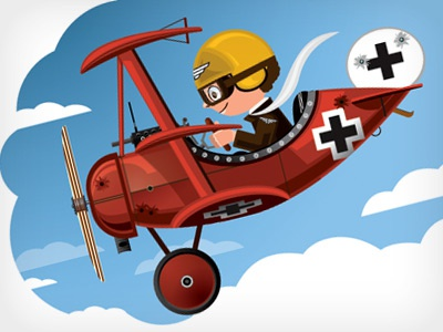 Little Red Baron