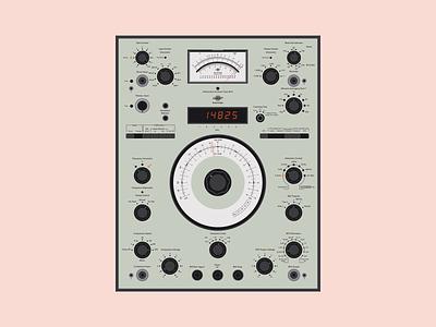 Brüel & Kjær — Heterodyne Analyzer Type 2010 plugin vst ui design visual design filter music user interface hardware equipment vintage sound audio interface design ui