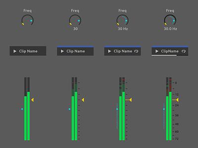 Ableton Live Redesign - Detail Level sound audio daw user ui redesign live interface gui design ableton