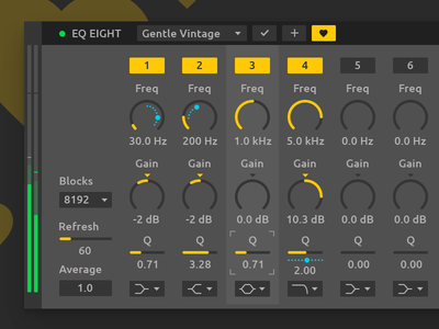 Ableton Live Redesign - Device Rack Presets software clean synth effect sound audio daw ui redesign interface design ableton