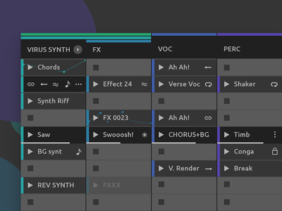 Ableton Live Redesign - Session View