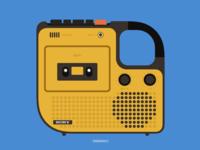 Sony cassette player
