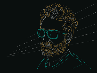 Profile pic for Spotify spotify streaming profile the root out futuristic illustraion