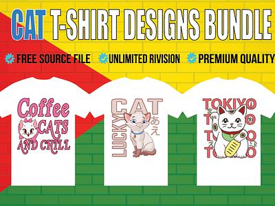 Best Typography designs illustration graphic design illustrator cat typhography tshirt