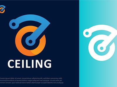 CEILING logo illustrator vector branding graphic design design