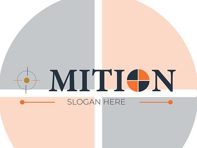 MITION LOGO DESIGN typography ux illustration illustrator vector branding design logo motion graphics graphic design 3d animation ui