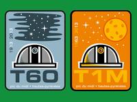 T60 & T1M stickers