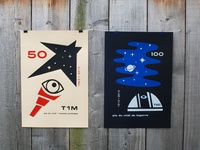T1M & T60 anniversary posters