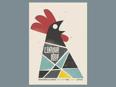 l'entourloop gig poster