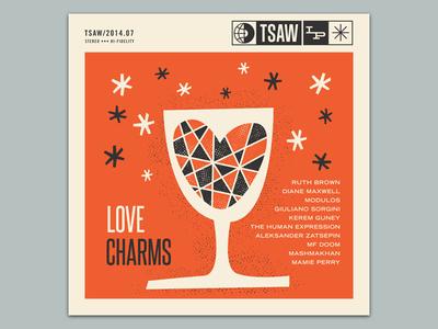 Love Charms illustration tsaw mixtape album cover