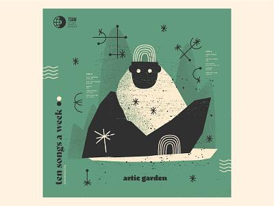 artic garden illustration tsaw mixtape illustrator mixtapecover