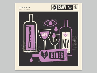 Red wine for my blues