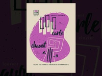 Carle Chavoit gigposter