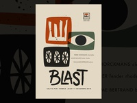 Blast gigposter