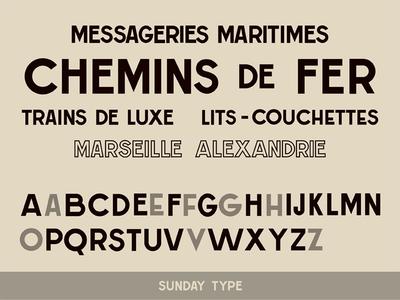 Messageries Maritimes Font