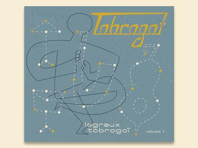 Tobrogoï • legraux tobrogoï jazz illustration album cover