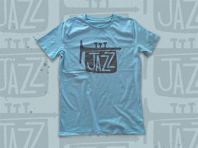 Jazz Tee screenprint jazz