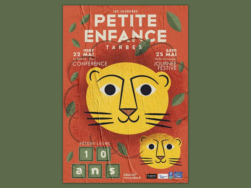Journée Petite Enfance 2019 tarbes childhood child illustration graphicdesign poster illustration
