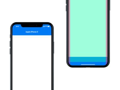 iPhone X - UI Template Freebie by Michael Hutchinson - Dribbble