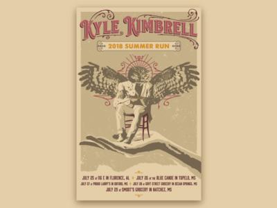 Kyle Kimbrell Gig Poster
