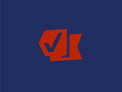 Check Please political campaign voting check box identity wip logo check mark