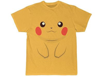 Pikachu Face T-Shirt pokemongo pika t-shirts pokemon pikachu illustration