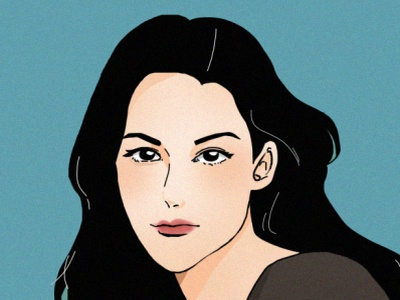 Fresh Blue digital livtyler digitalart illustration