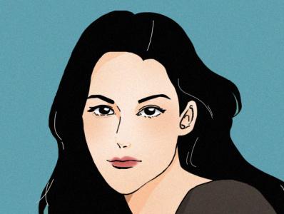 Fresh Blue digital livtyler digitalart illustration