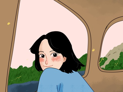 missing on you digital illustration character animation character illustration digital